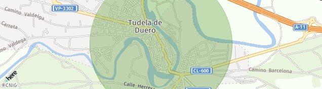Mapa Tudela de Duero