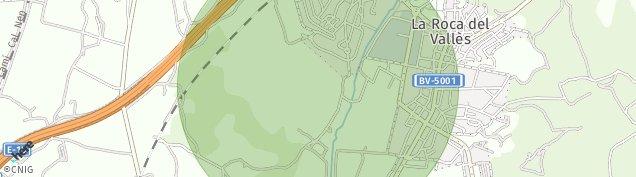 Mapa La Roca del Vallès