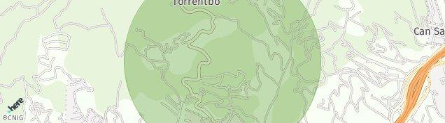 Mapa Sant Vicenç de Montalt