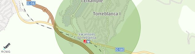 Mapa Vacarisses