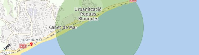 Mapa Sant Pol de Mar