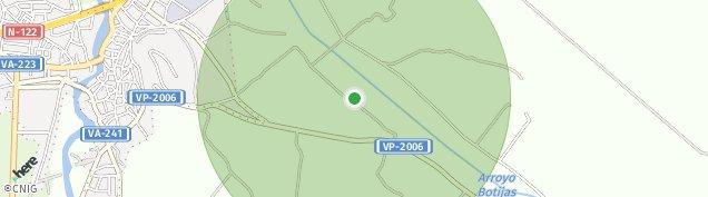 Mapa Peñafiel