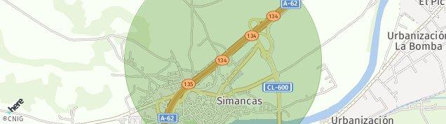Mapa Simancas