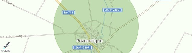 Mapa Pozoantiguo