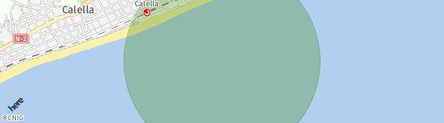 Mapa Pineda de Mar