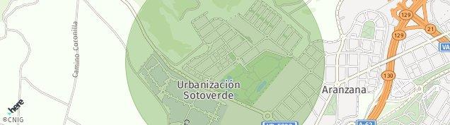 Mapa Arroyo de la Encomienda