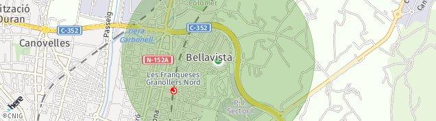 Mapa Bellavista