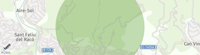 Mapa Castellar del Vallès