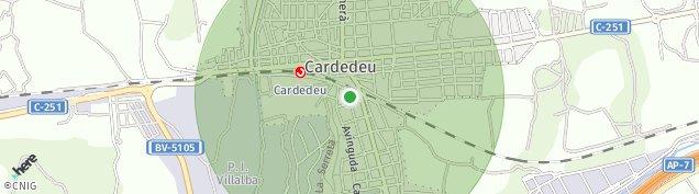Mapa Cardedeu