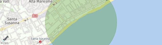 Mapa Malgrat de mar