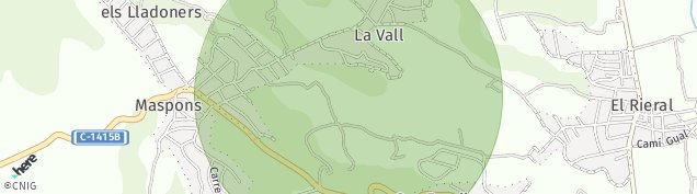 Mapa Santa Eulalia de Ronçana