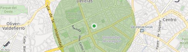 Mapa Zaragoza