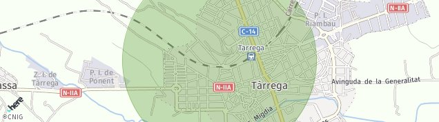 Mapa Tarrega