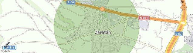 Mapa Zaratán