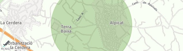 Mapa Alpicat
