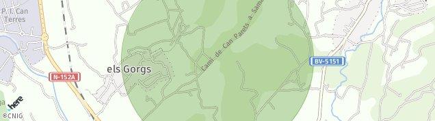 Mapa Corro d'Amunt