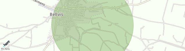 Mapa Bellvís