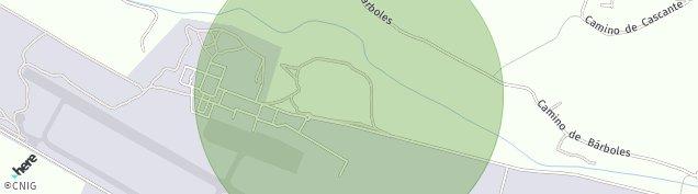 Mapa Aeropuerto de Garrapinillos