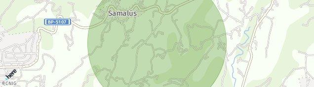 Mapa Samalus