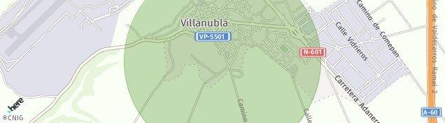 Mapa Villanubla