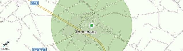 Mapa Tornabous