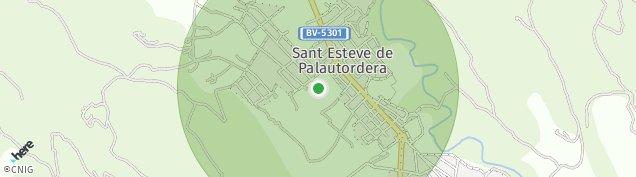 Mapa Sant Esteve de Palautordera