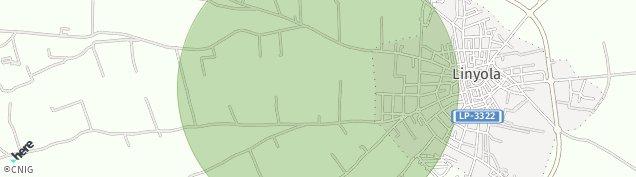 Mapa Linyola