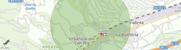 Mapa La Batlloria