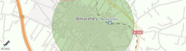Mapa Almacelles