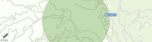 Mapa Talamanca