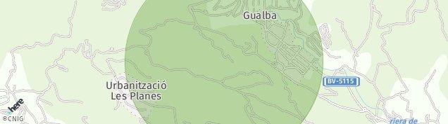 Mapa Gualba