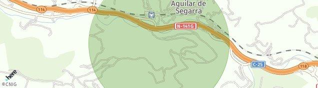 Mapa Aguilar de Segarra