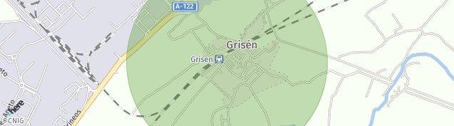 Mapa Grisén