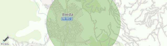 Mapa Breda