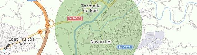 Mapa Navarcles