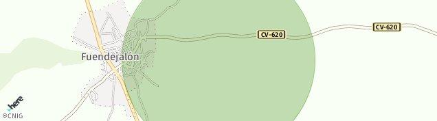 Mapa Fuendejalón