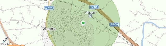Mapa Alagón