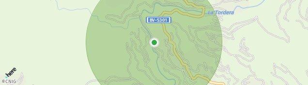Mapa Montseny