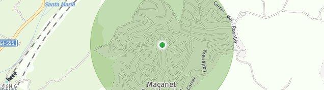 Mapa Martorell de La Selva
