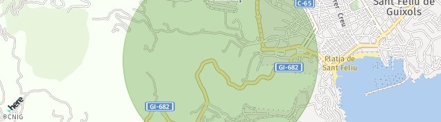 Mapa Sant Amanc