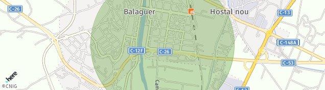 Mapa Balaguer