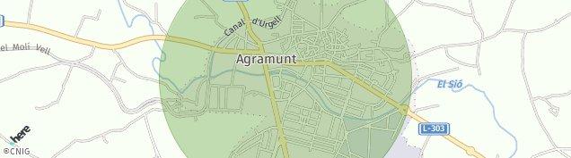 Mapa Agramunt