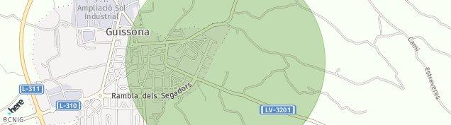 Mapa Guissona