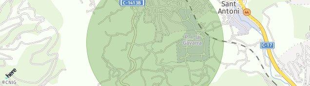 Mapa Centelles