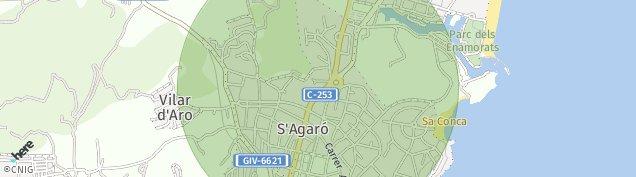 Mapa S'agaro