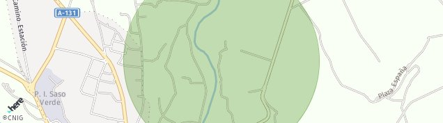 Mapa Sariñena