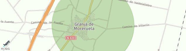 Mapa Granja de Moreruela