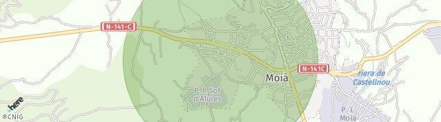 Mapa Moià
