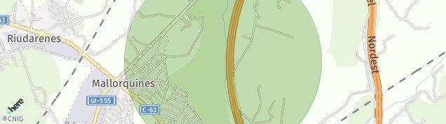 Mapa Sils