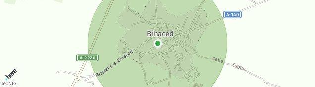 Mapa Binaced